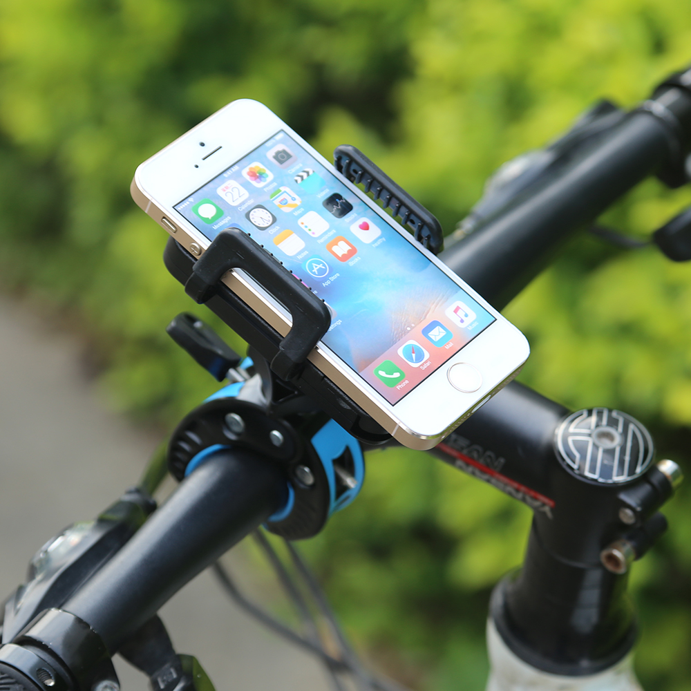 360 fahrrad mountainbike handyhalter iphone pda navi gps. Black Bedroom Furniture Sets. Home Design Ideas