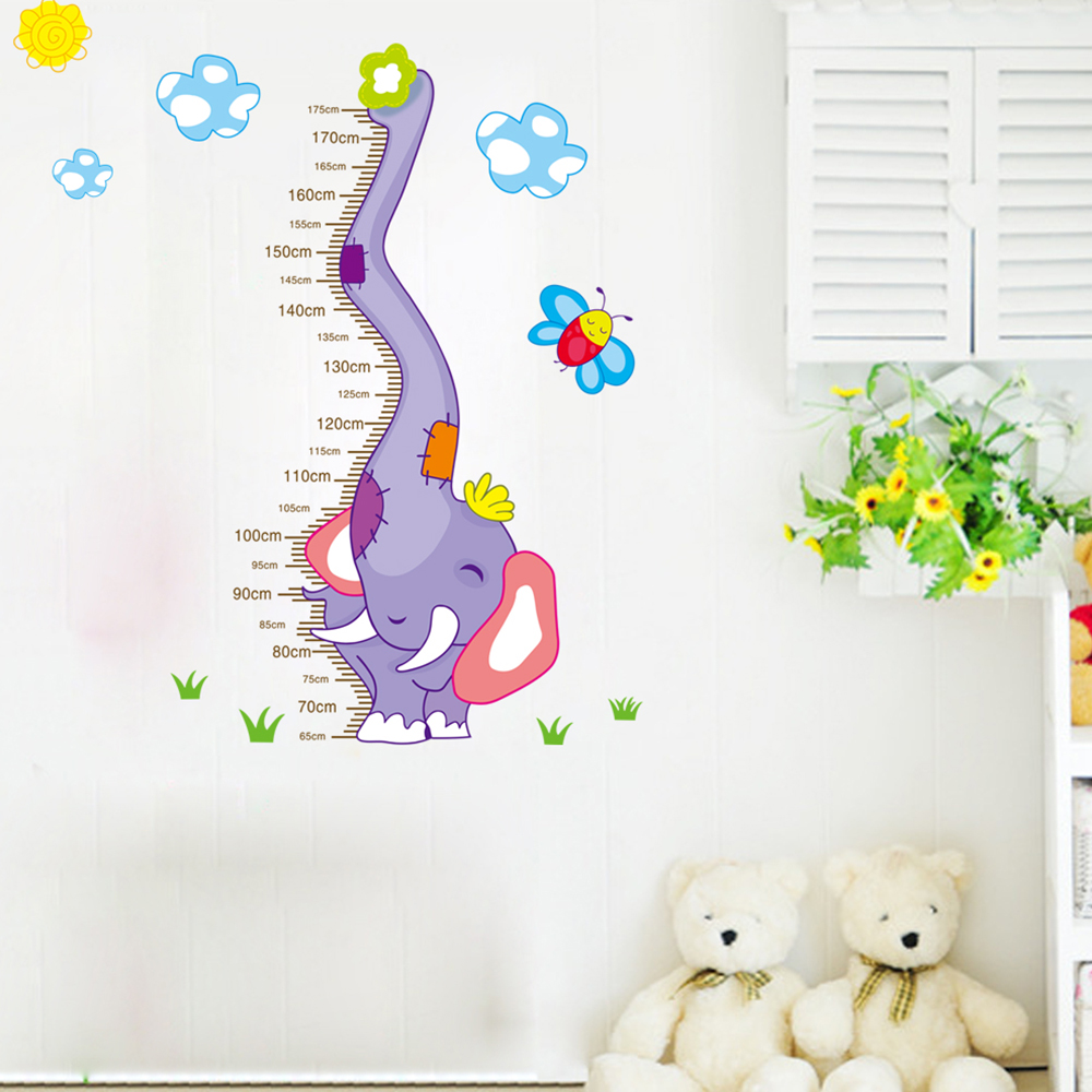 Elefant kinderzimmer aufkleber wandtattoo wandsticker for Deko wand kinderzimmer