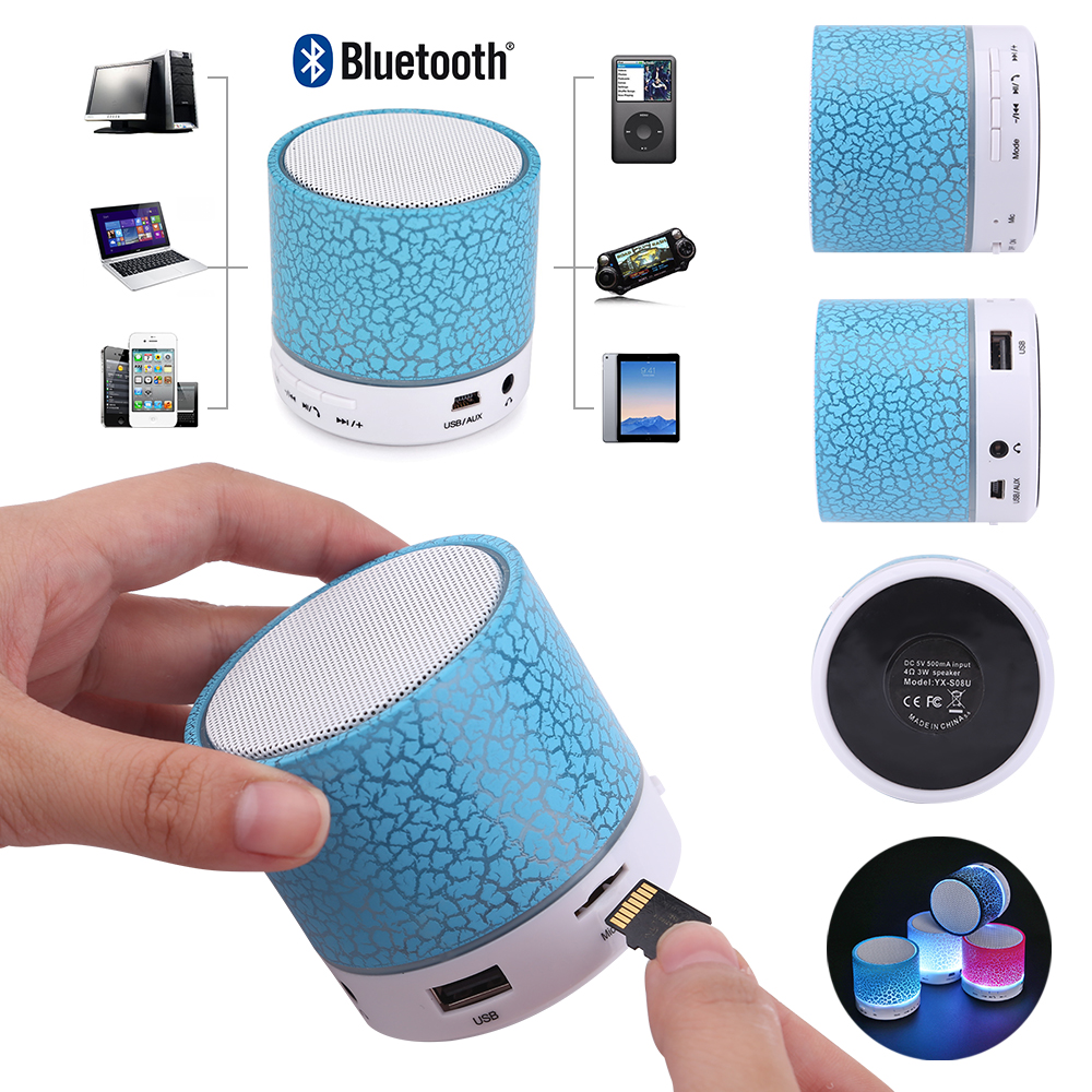 bluetooth mini lautsprecher musik box mp3 tf usb stereo speaker handsfree handy ebay. Black Bedroom Furniture Sets. Home Design Ideas
