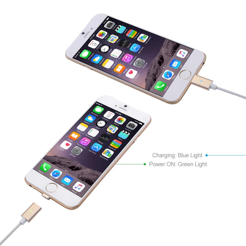 magnet usb lade adapter kabel lightning ladekabel f r. Black Bedroom Furniture Sets. Home Design Ideas