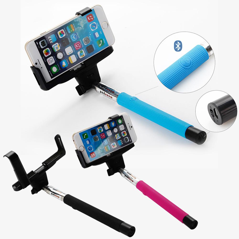 bluetooth wireless monopod selfie stick telescopic remote mobile phone holder uk ebay. Black Bedroom Furniture Sets. Home Design Ideas