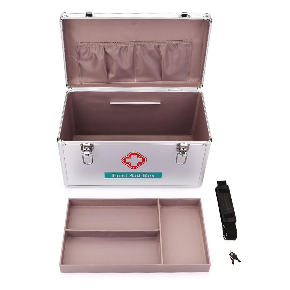 medizinkoffer erste hilfe box kasten medizinbox arzneischrank medizinschrank ebay. Black Bedroom Furniture Sets. Home Design Ideas