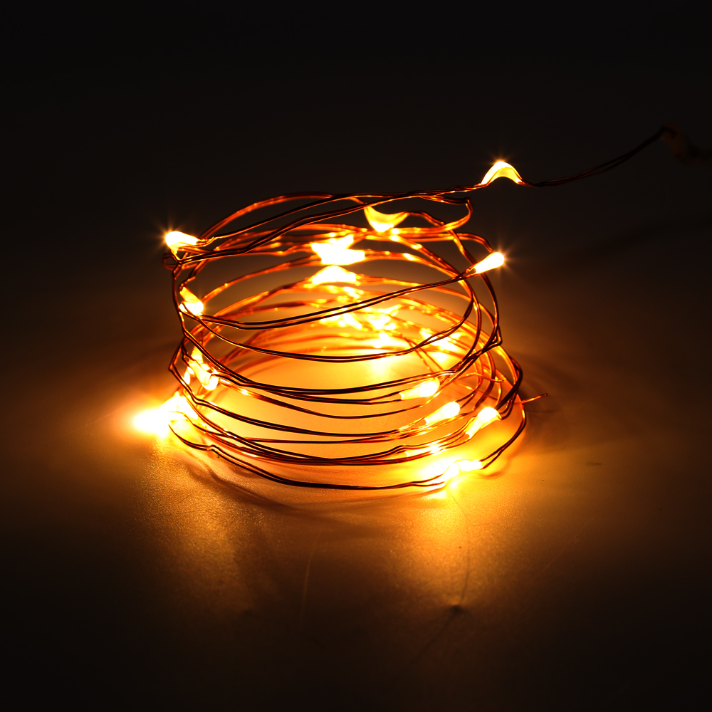 6x 2m 20 leds battery operated mini led copper wire string. Black Bedroom Furniture Sets. Home Design Ideas