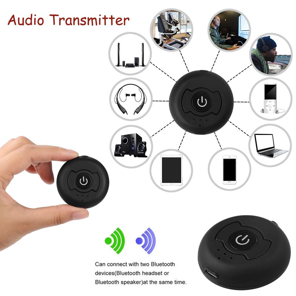 bluetooth 4 0 transmitter audio h366t music wireless. Black Bedroom Furniture Sets. Home Design Ideas