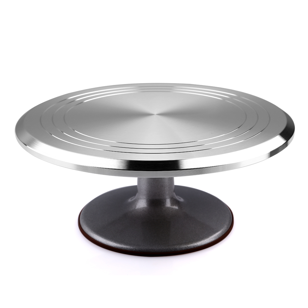Stainless Steel Revolving Cake Stand