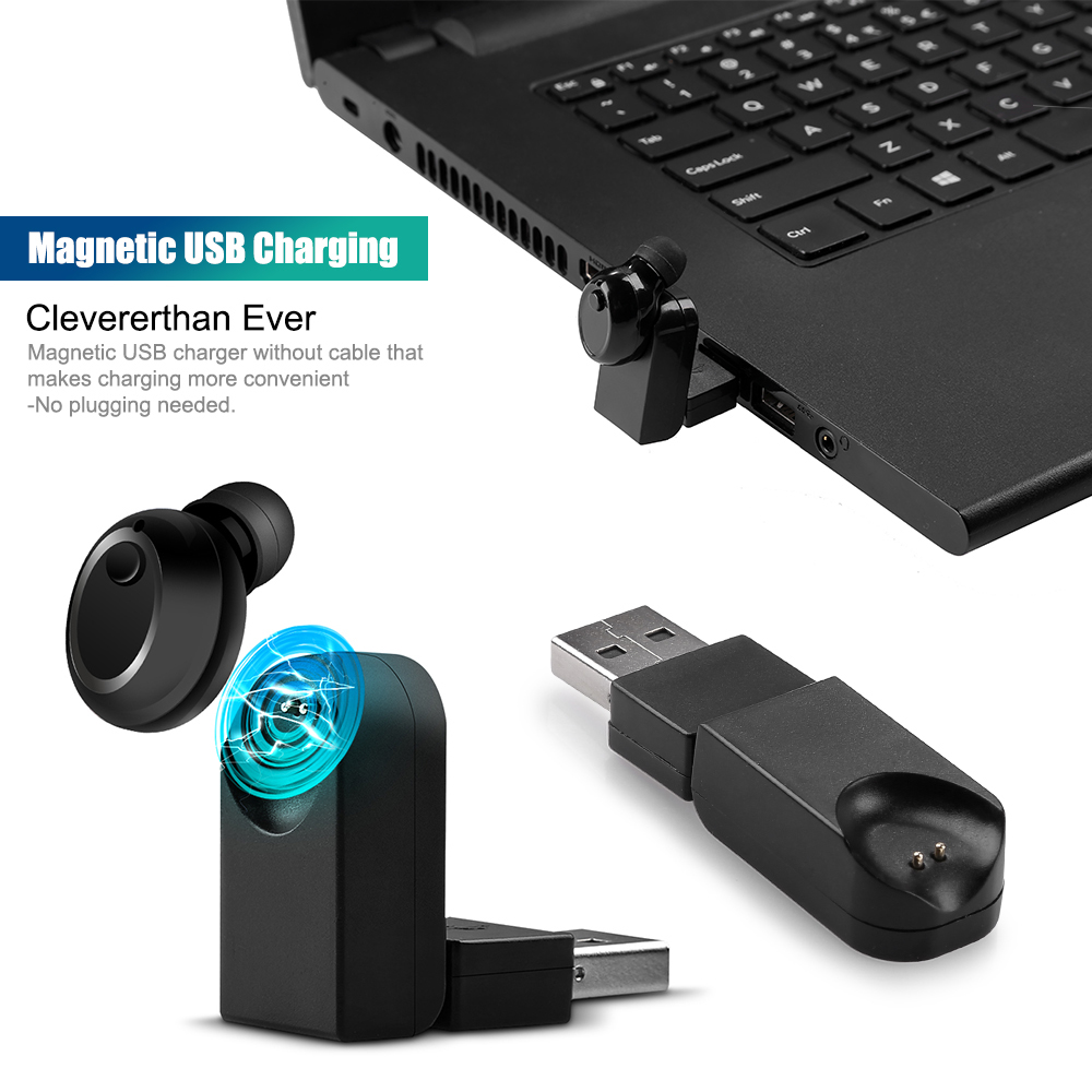 Usb wireless earphones for pc - wireless earbuds for laptop computer