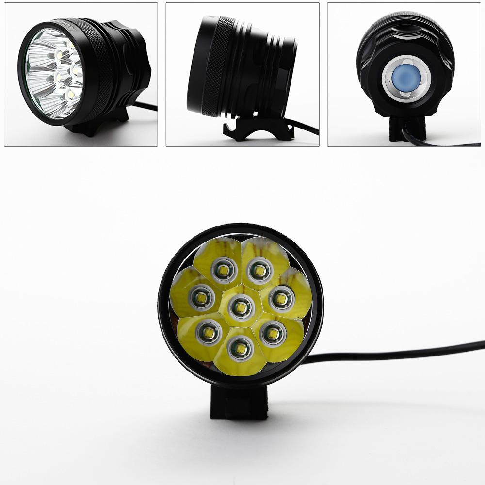 led fahrradlampe fahrradbeleuchtung 1 8 led fahrradlicht. Black Bedroom Furniture Sets. Home Design Ideas