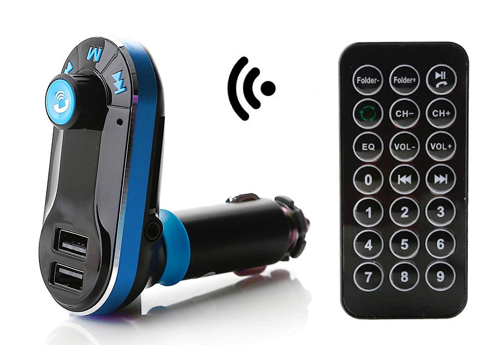 bluetooth auto kfz fm transmitter sd mmc usb mp3 musik. Black Bedroom Furniture Sets. Home Design Ideas