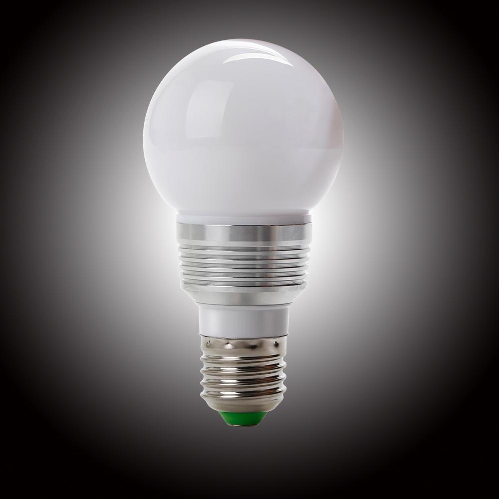 3w rgb gl hlampe lampe licht beleuchtung farbwechsel gl hbirne mit fernbedienung ebay. Black Bedroom Furniture Sets. Home Design Ideas