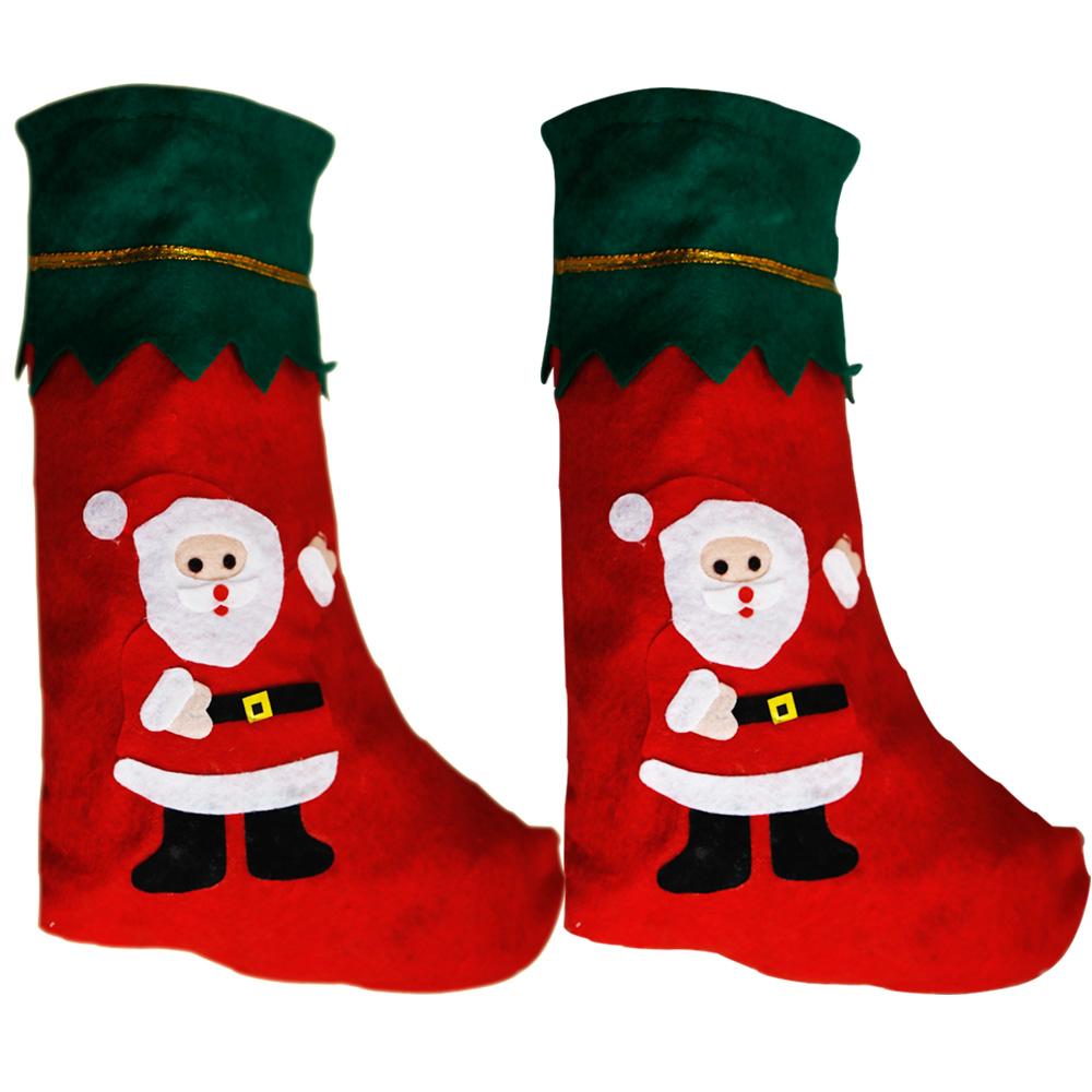 Nikolausstiefel Nikolausstrumpf Geschenkbeutel Santa Claus