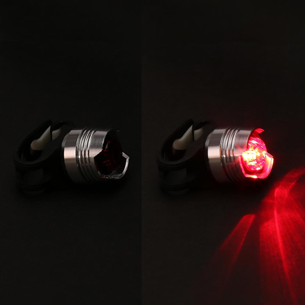 led fahrrad r cklicht lampe wasserdicht mit akku rot licht. Black Bedroom Furniture Sets. Home Design Ideas