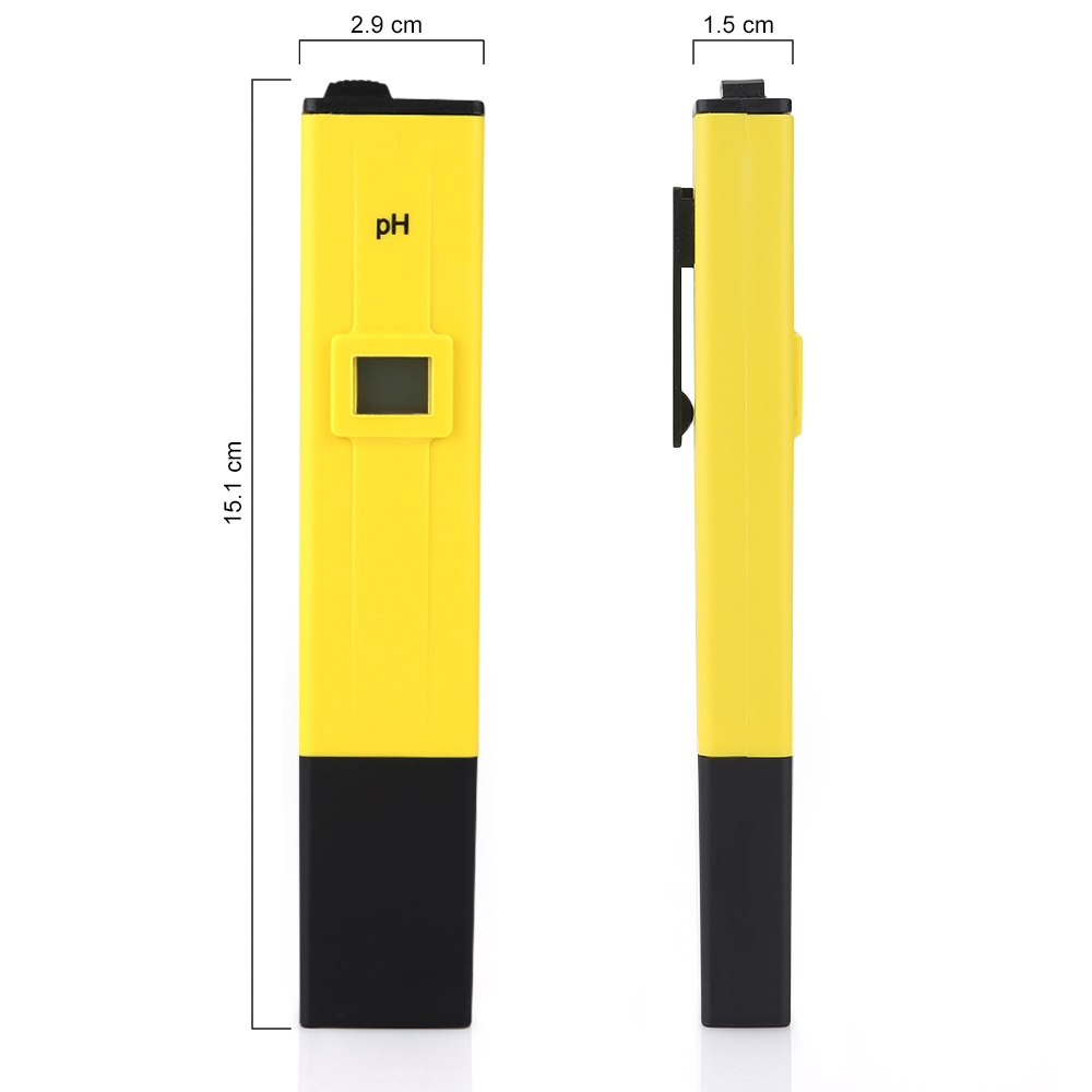 0 14 electric digital ph meter tester wasser hydroponics pen aquarium pool test ebay. Black Bedroom Furniture Sets. Home Design Ideas
