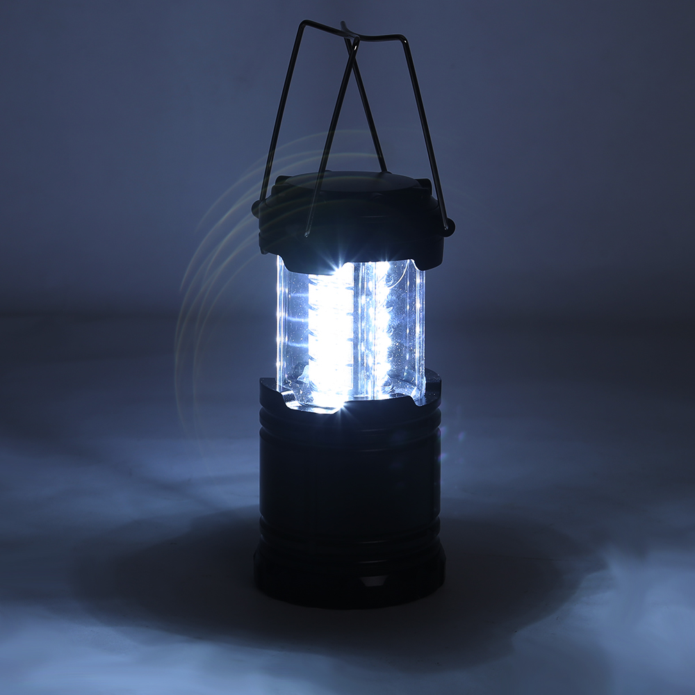 2x 30 led portable camping torch battery operated lantern. Black Bedroom Furniture Sets. Home Design Ideas