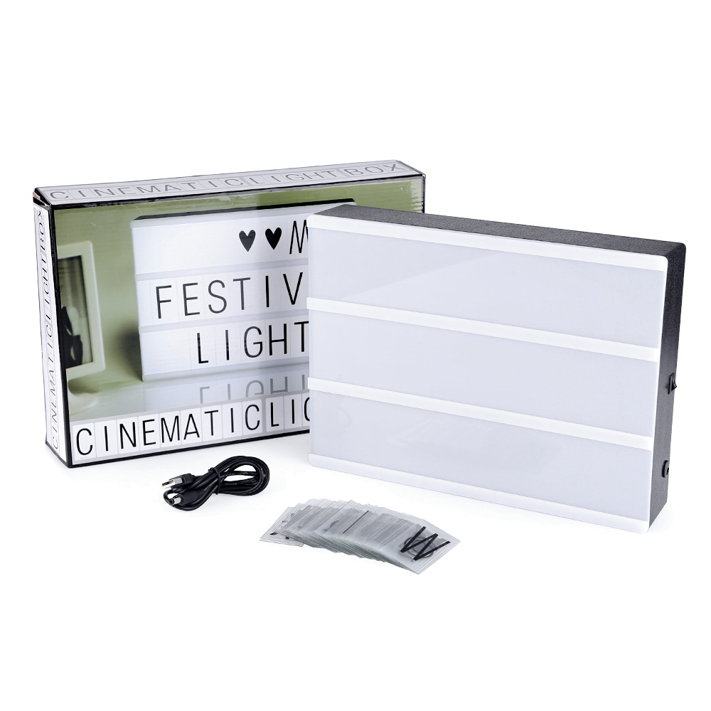 led lightbox a4 leuchtkasten filmischen lichtbox party. Black Bedroom Furniture Sets. Home Design Ideas