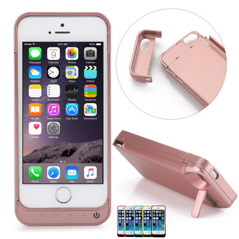 charging case for iphone 5c 4200mah portable external battery power bank charger 2216