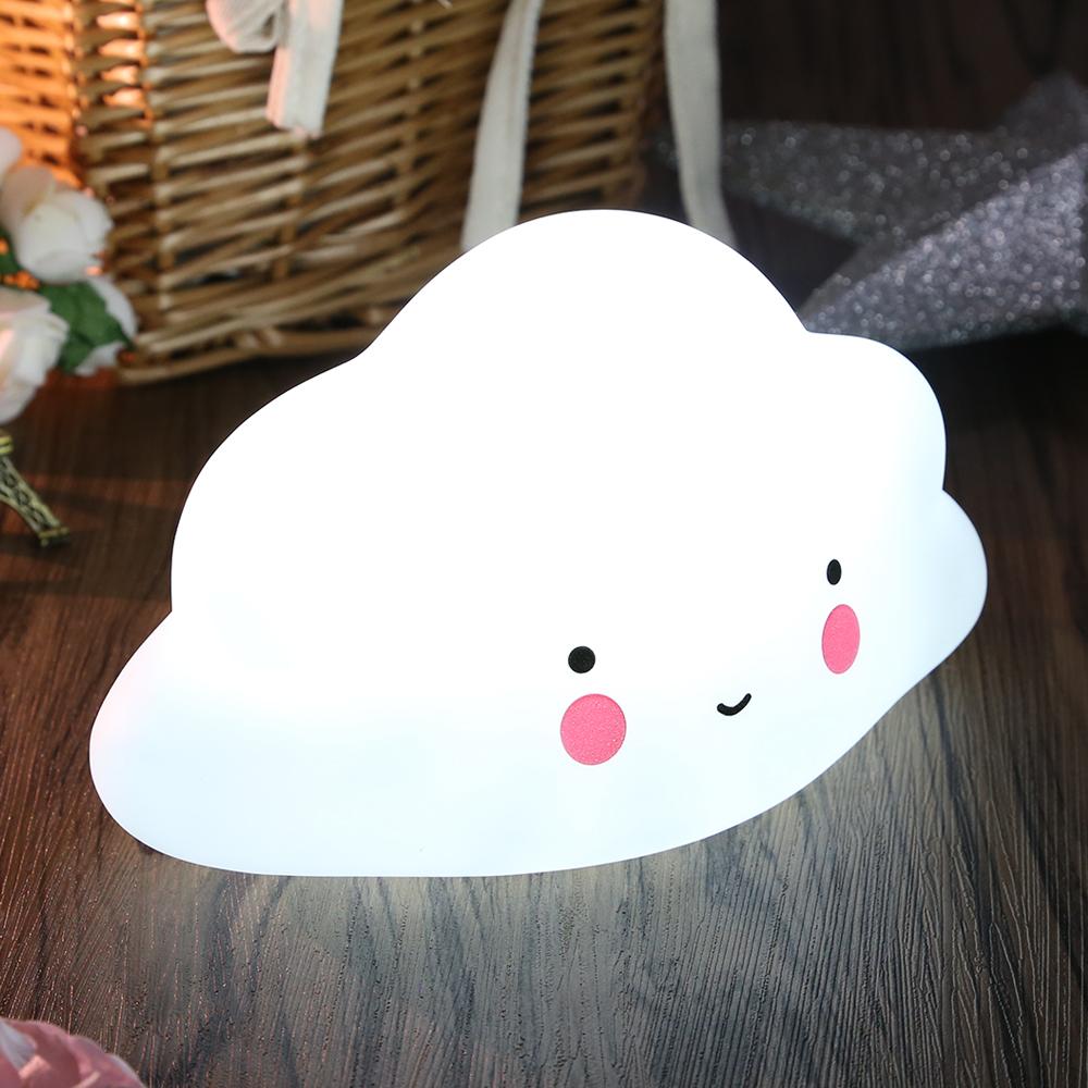 wolken led nachtlicht kinder nachtlampe f r baby kinder. Black Bedroom Furniture Sets. Home Design Ideas