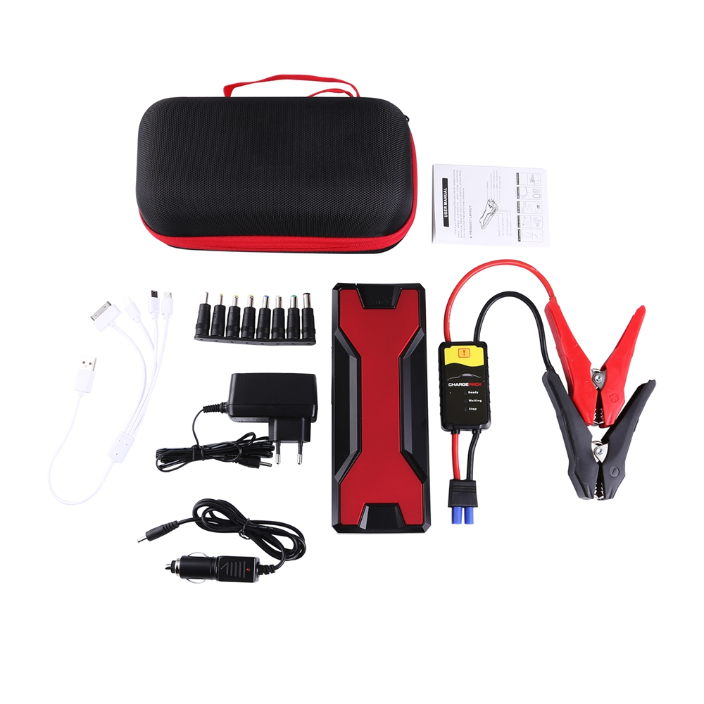 18000mah 600a 12v auto jump starter batterie car starthilfe akku power bank ebay. Black Bedroom Furniture Sets. Home Design Ideas
