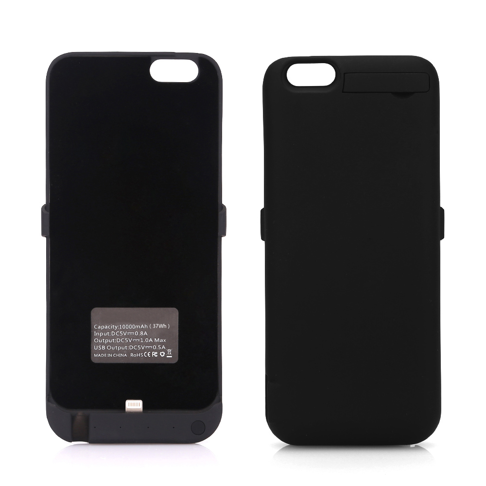 iphone 6 6s 7 10000mah coque chargeur batterie externe housse ebay. Black Bedroom Furniture Sets. Home Design Ideas