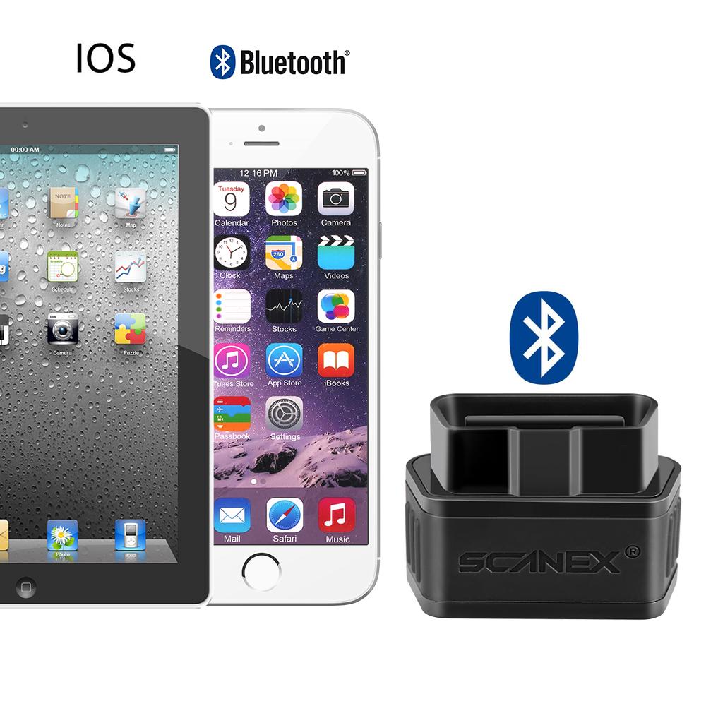 Bluetooth 4.0 Ex903 Car OBD2 II Code Reader IOS iPhone Auto Diagnostic Scan Tool