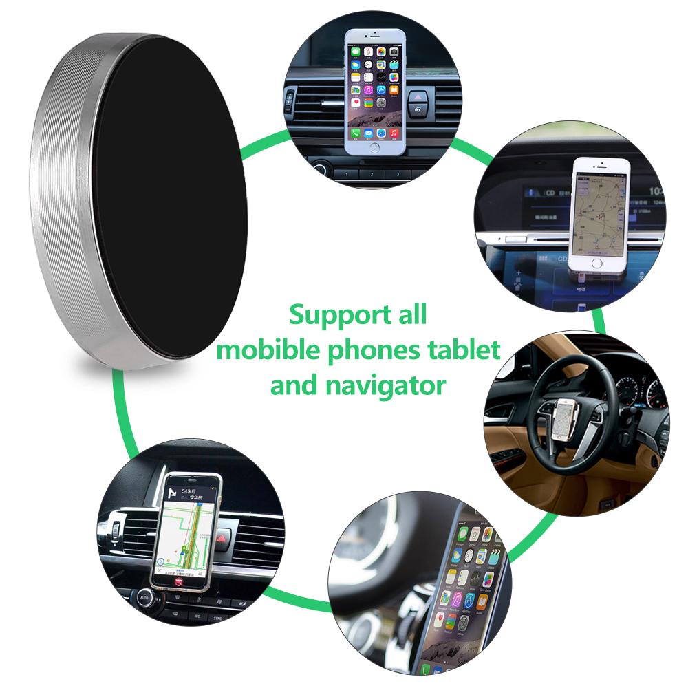 universel support de voiture aimant magn tique pour t l phone iphone samsung gps ebay. Black Bedroom Furniture Sets. Home Design Ideas