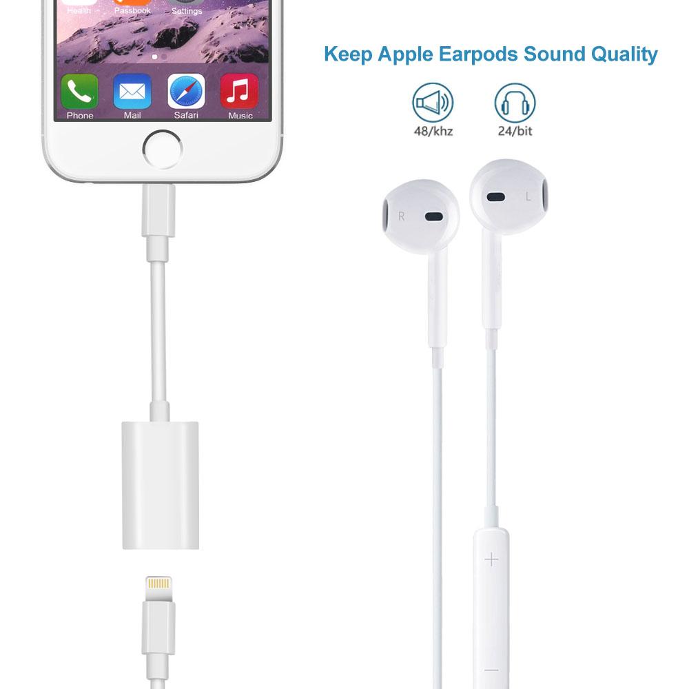 iphone 7 8 dual lightning kopfh rer audio adapter. Black Bedroom Furniture Sets. Home Design Ideas
