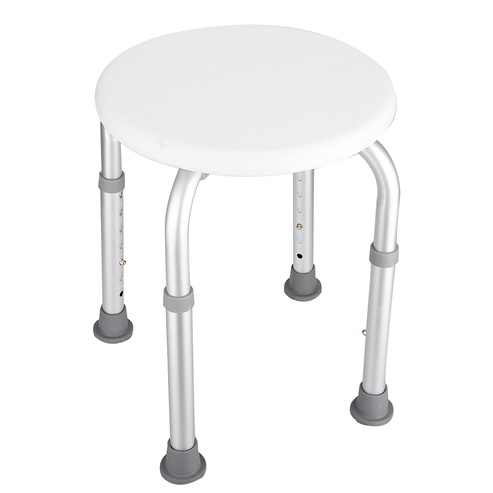 Uk Adjustable Round Bath And Shower Stool Seat Chair