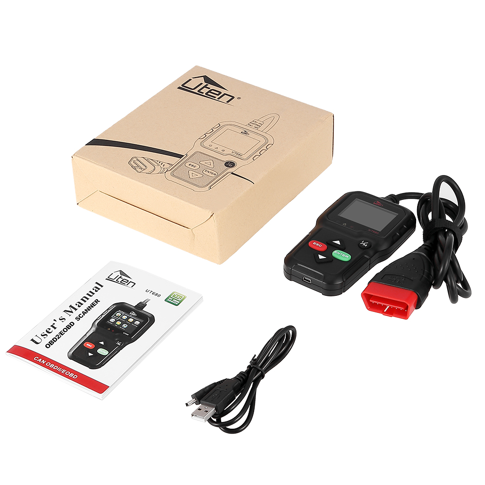 universal obd1 2 can kw680 diagnoseger t scanner fehler. Black Bedroom Furniture Sets. Home Design Ideas