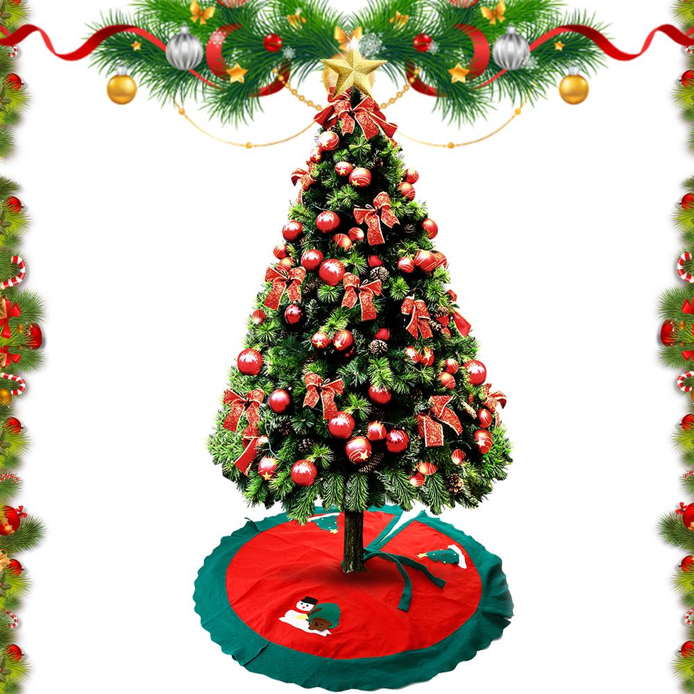 90 100cm weihnachtsbaum rock sch rze christbaum decke. Black Bedroom Furniture Sets. Home Design Ideas