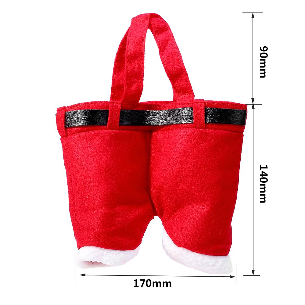 Neu Rote Weihnachten Hosen Beutel Geschenktasche Santa Sack ...
